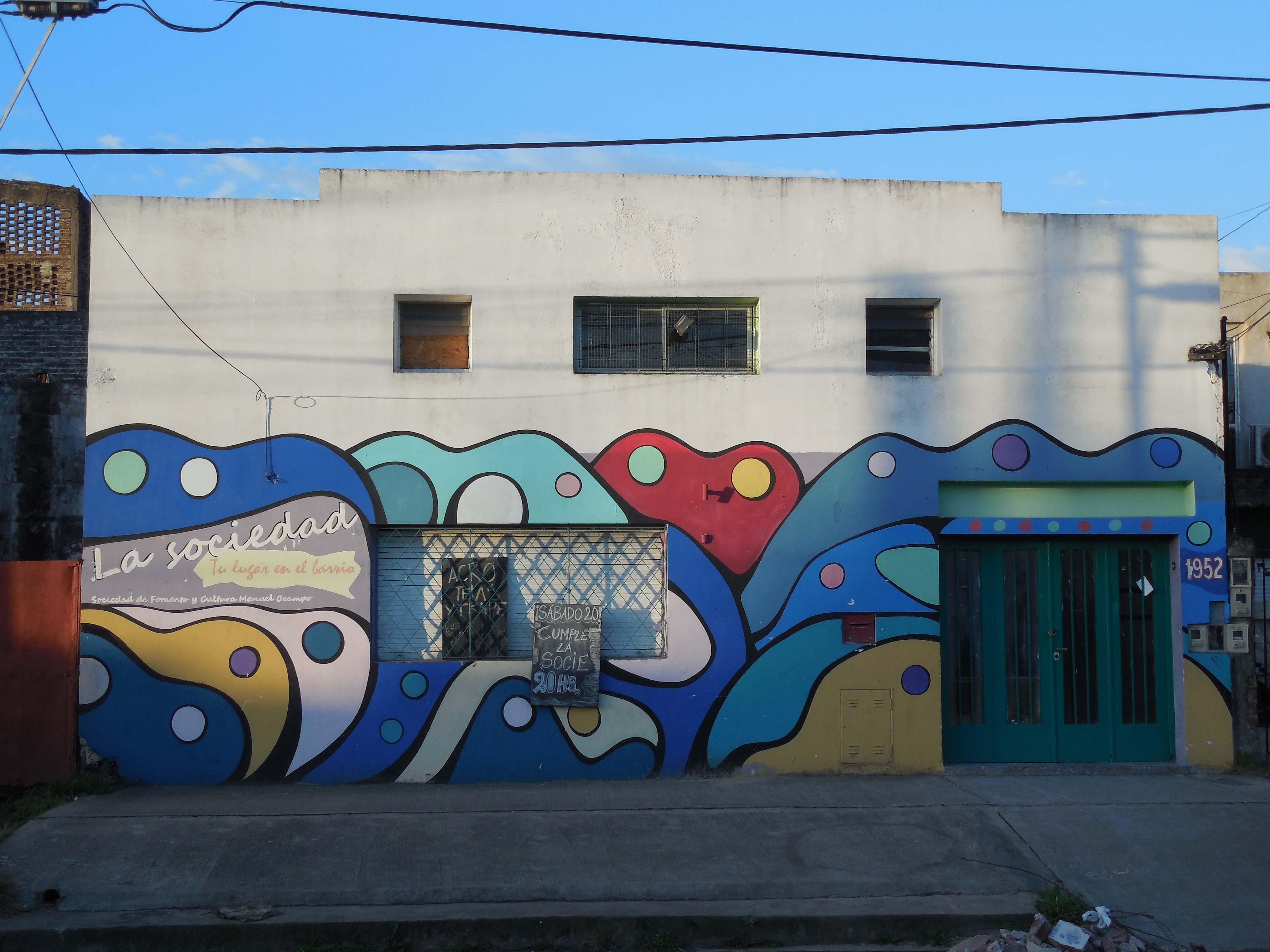 Fachada - Centro Cultural La Sociedad / Sociedad de Fomento y Cultura Manuel Ocampo