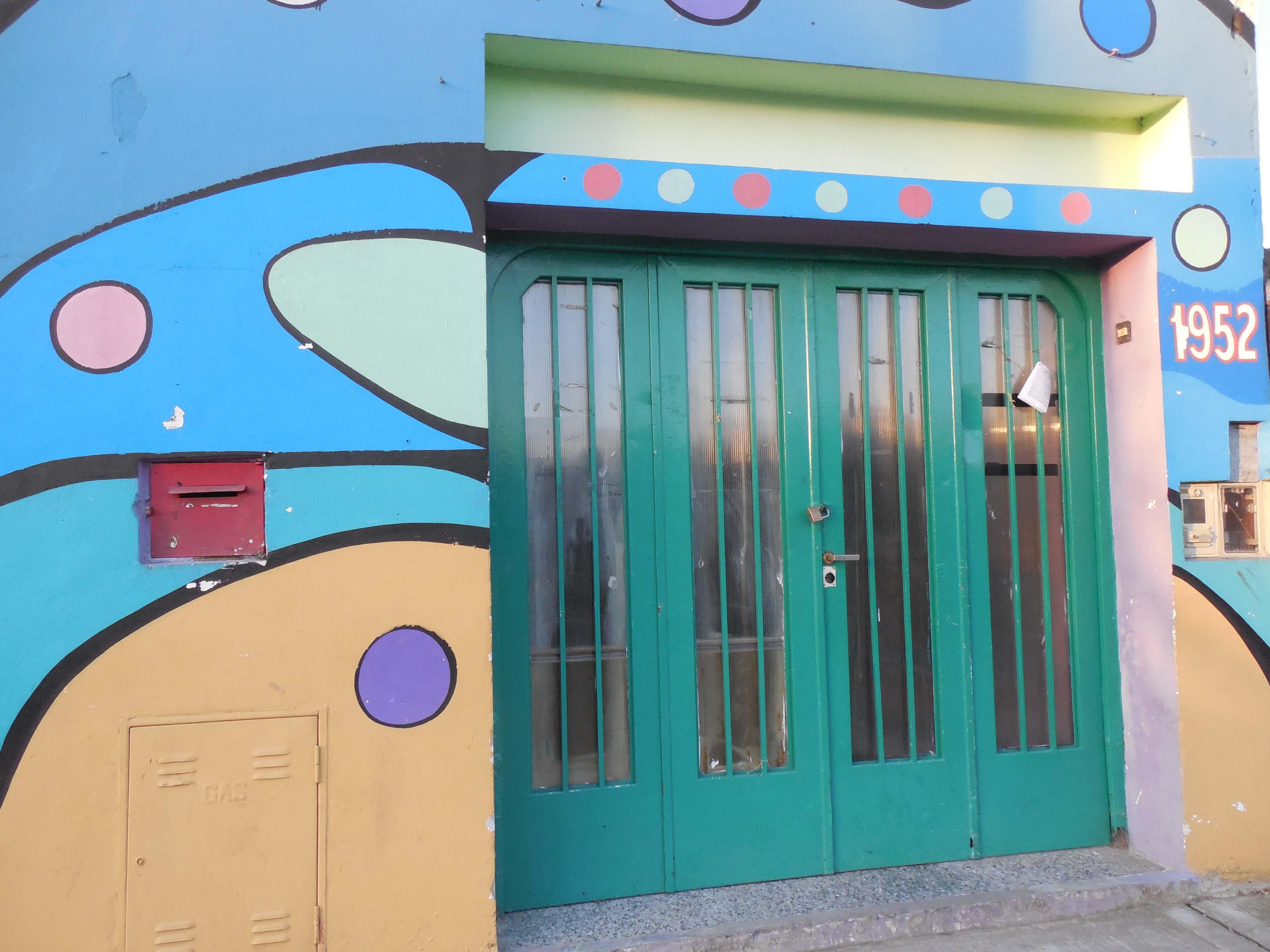 Puerta - Centro Cultural La Sociedad / Sociedad de Fomento y Cultura Manuel Ocampo