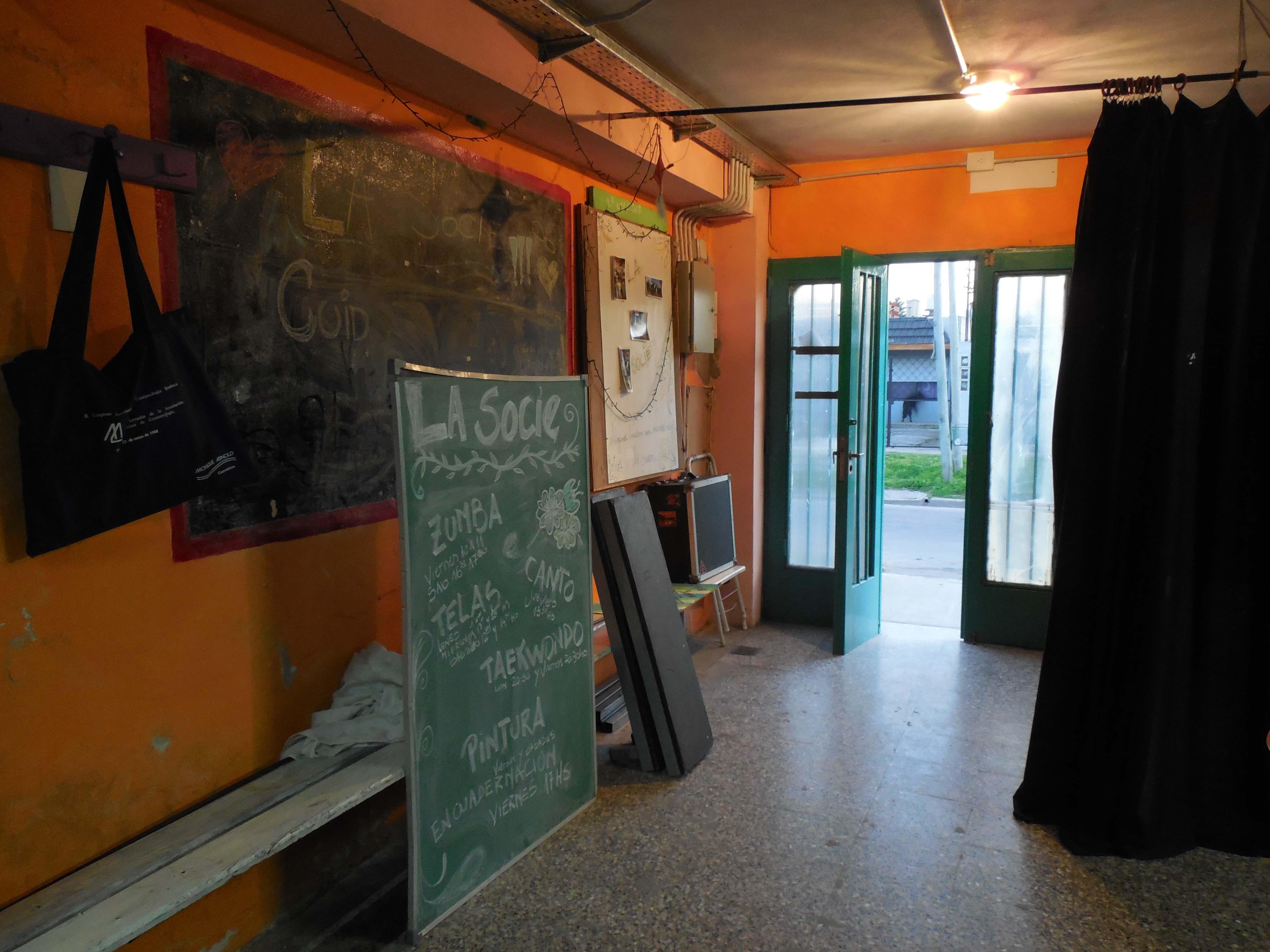 Hall - Centro Cultural La Sociedad / Sociedad de Fomento y Cultura Manuel Ocampo