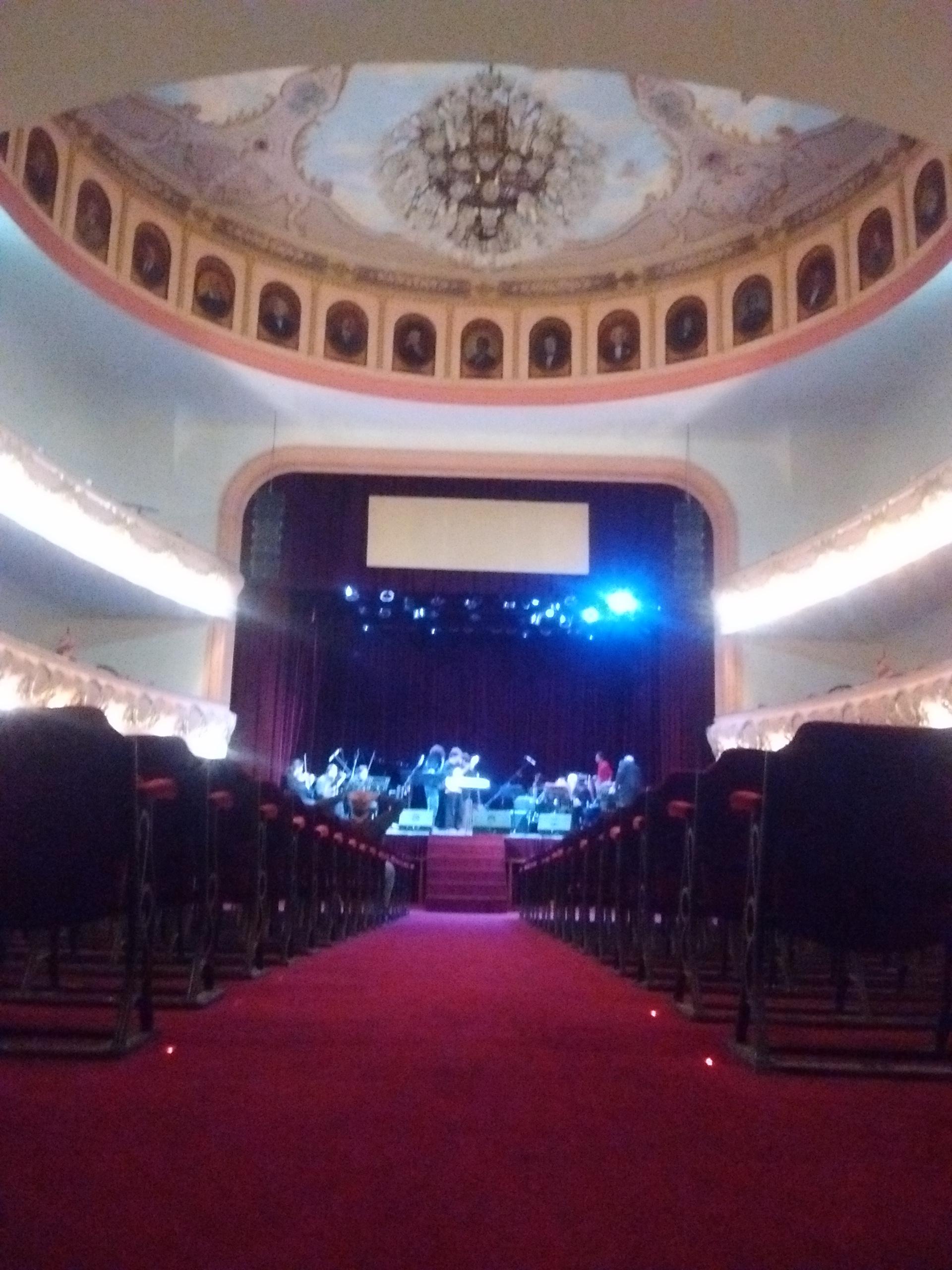 interior - Teatro Roma
