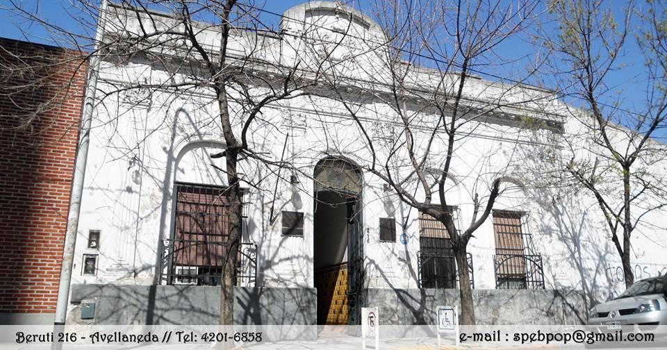 fachada biblioteca - Biblioteca Popular Zeballos