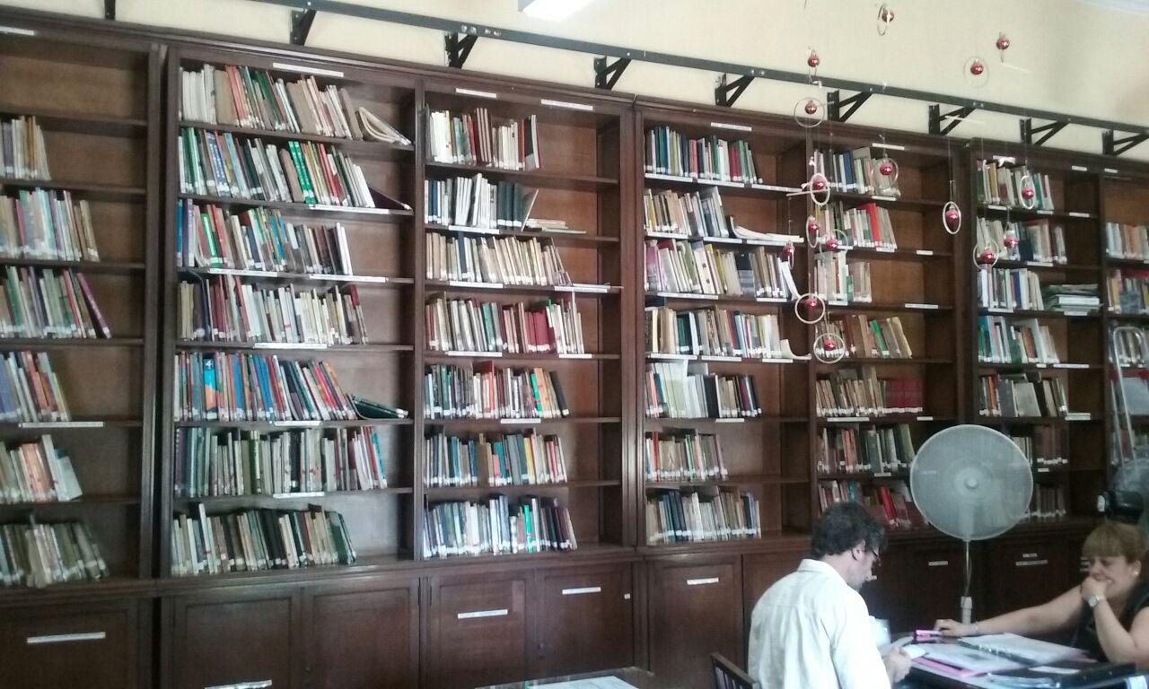interior biblioteca mariano moreno - Biblioteca Pedagógica Mariano Moreno