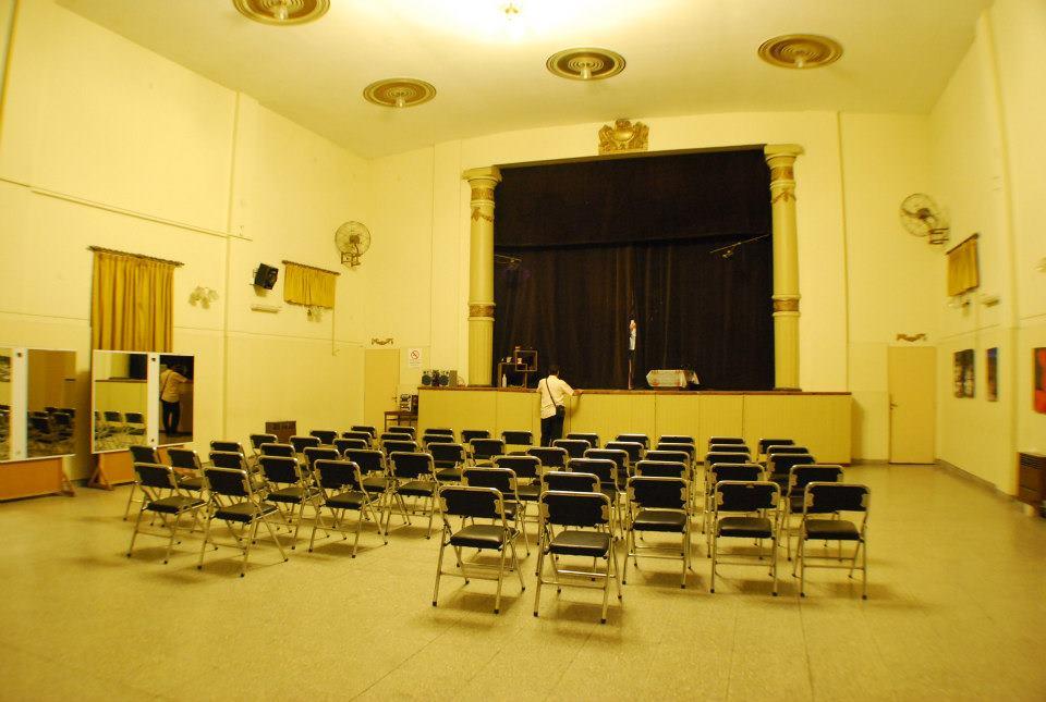 Sala de teatro - Sociedad Cosmopolita de Socorros Mutuos Unión de Wilde