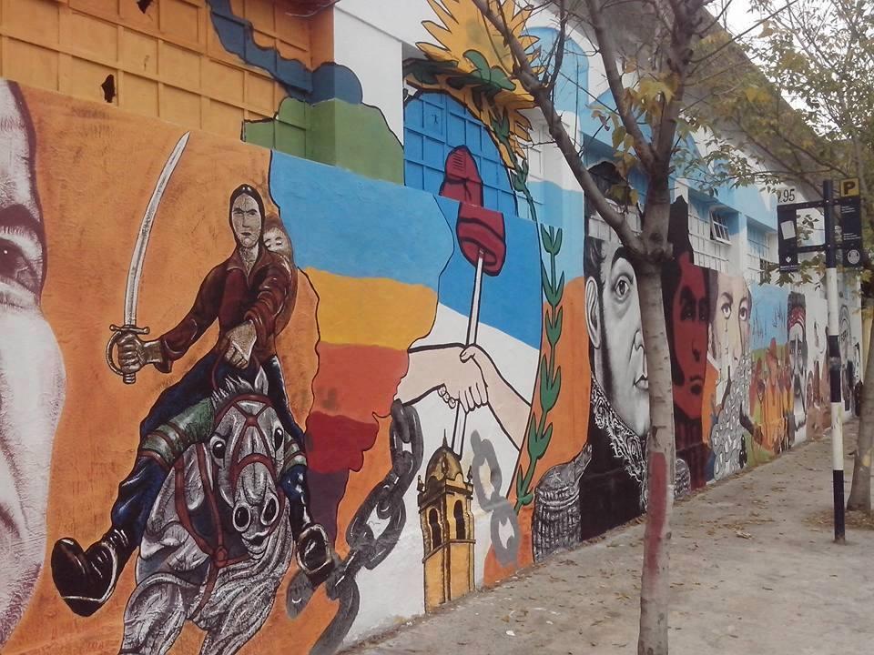 500 años de Historia  - Mural 500 Años de Historia