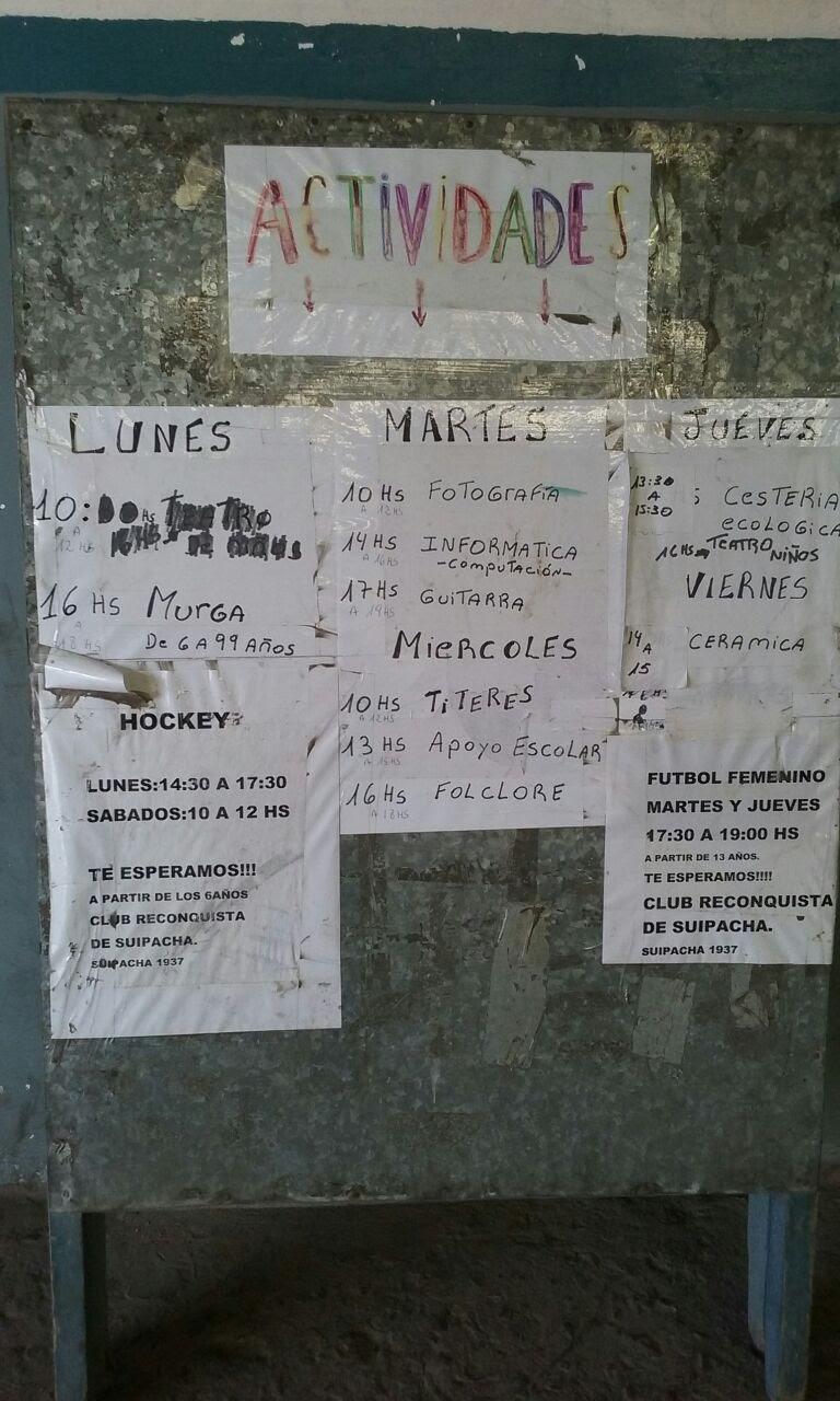 Club Reconquista de Suipacha 3 - Club Reconquista de Suipacha