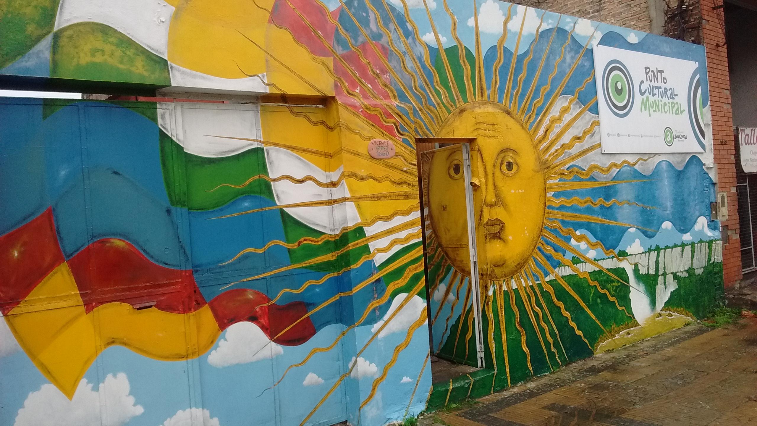 Entrada del Centro cultural Nueva Esperanza - Centro Cultural Nueva Esperanza