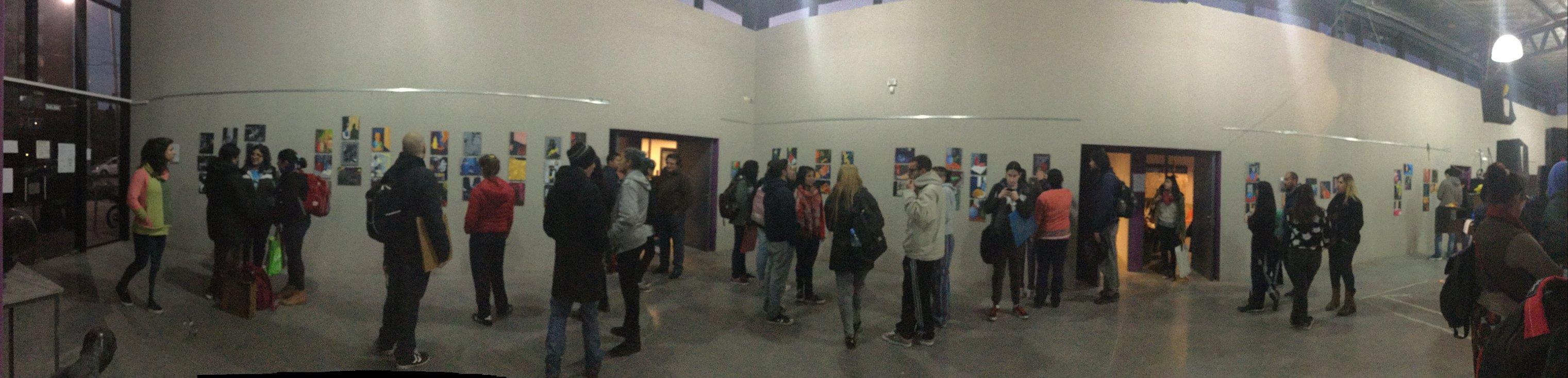 registro inauguración expo de estudiantes. foto 2 - Instituto Municipal Superior de Artes Plásticas