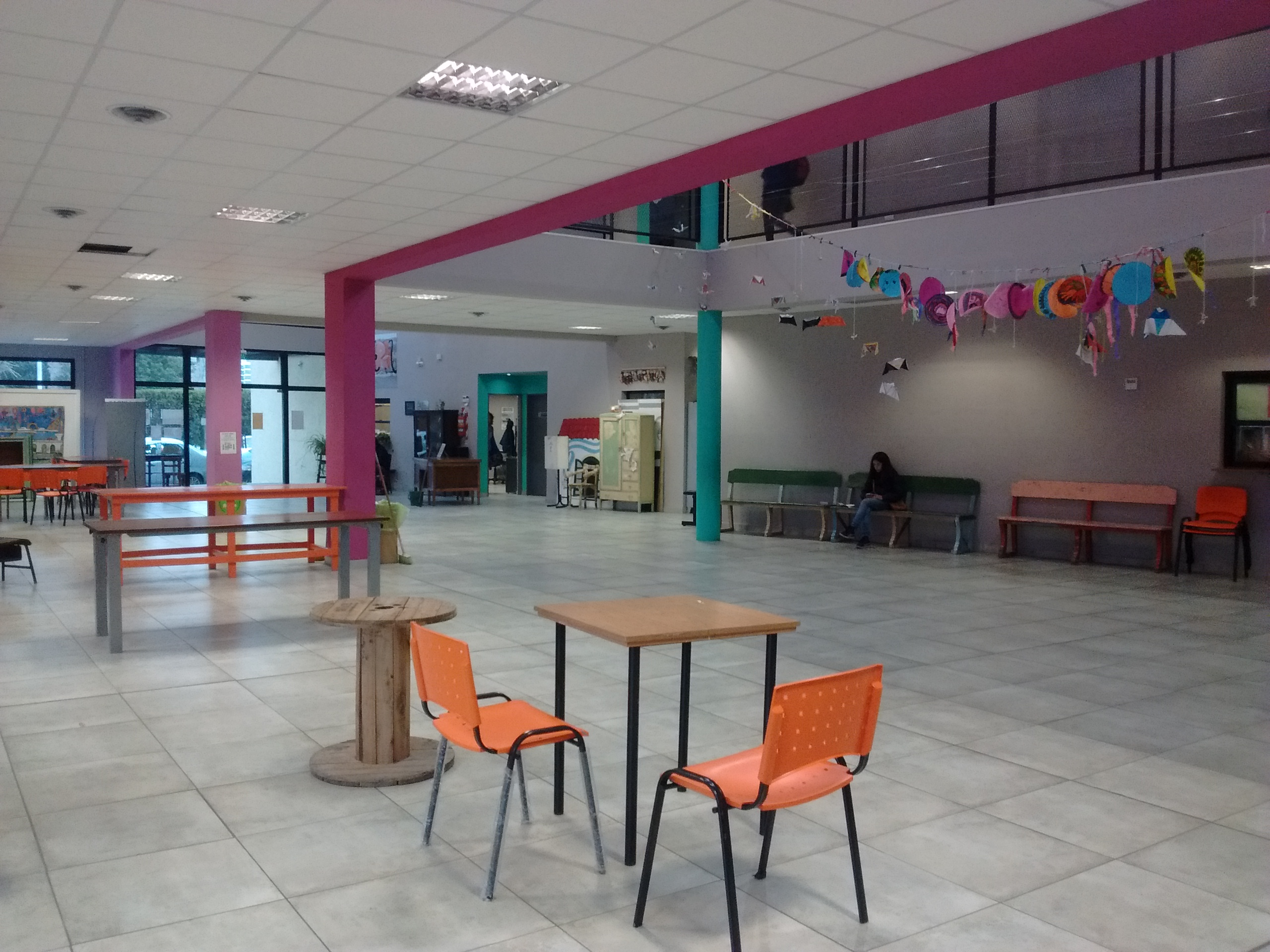 Interior IMEPA - Instituto Municipal de Educación por el Arte