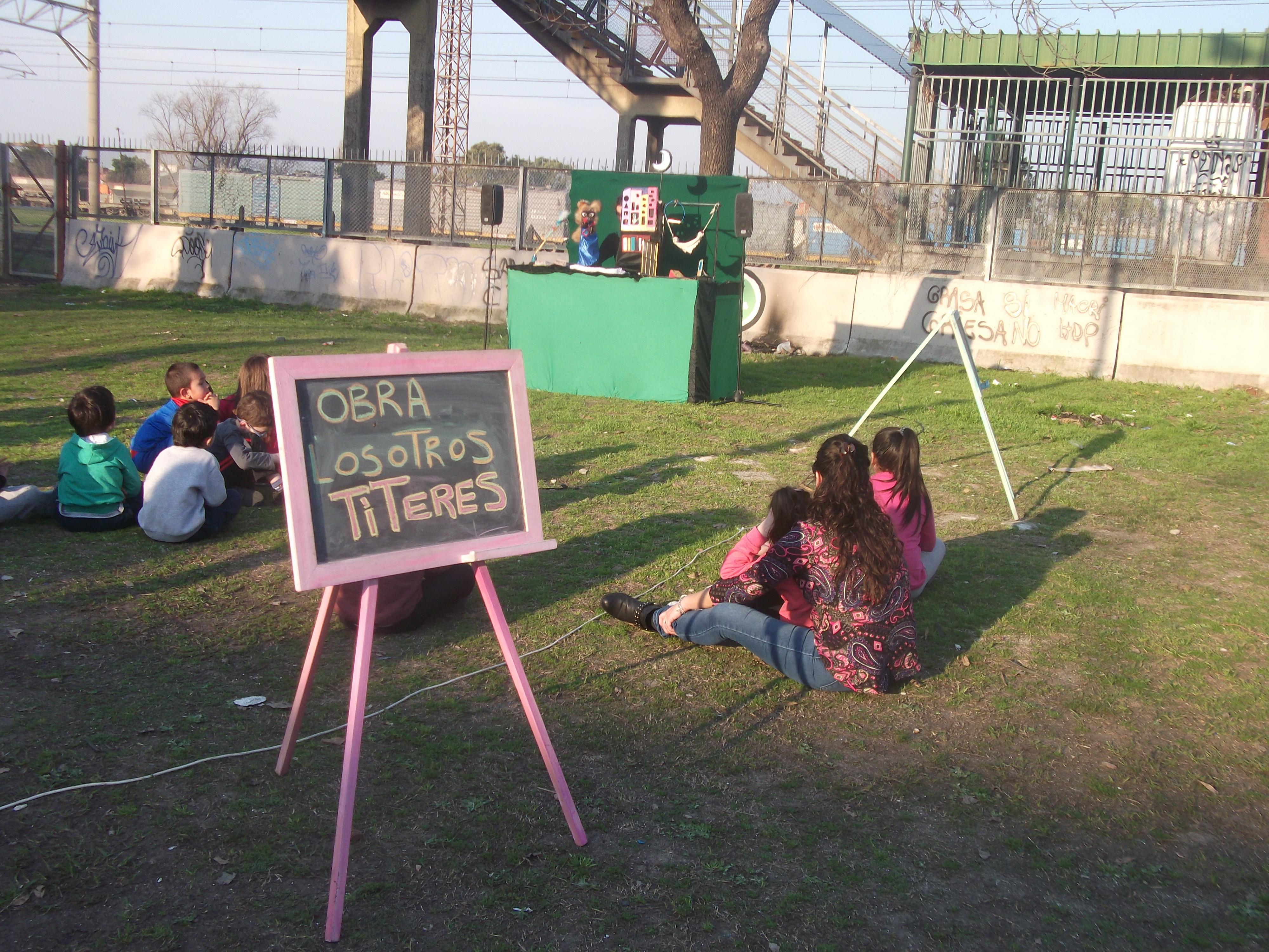 Títeres en el Juana - Centro Cultural Juana Azurduy