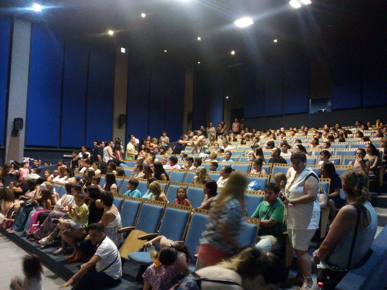 Sala de proyección - Cine Wilde