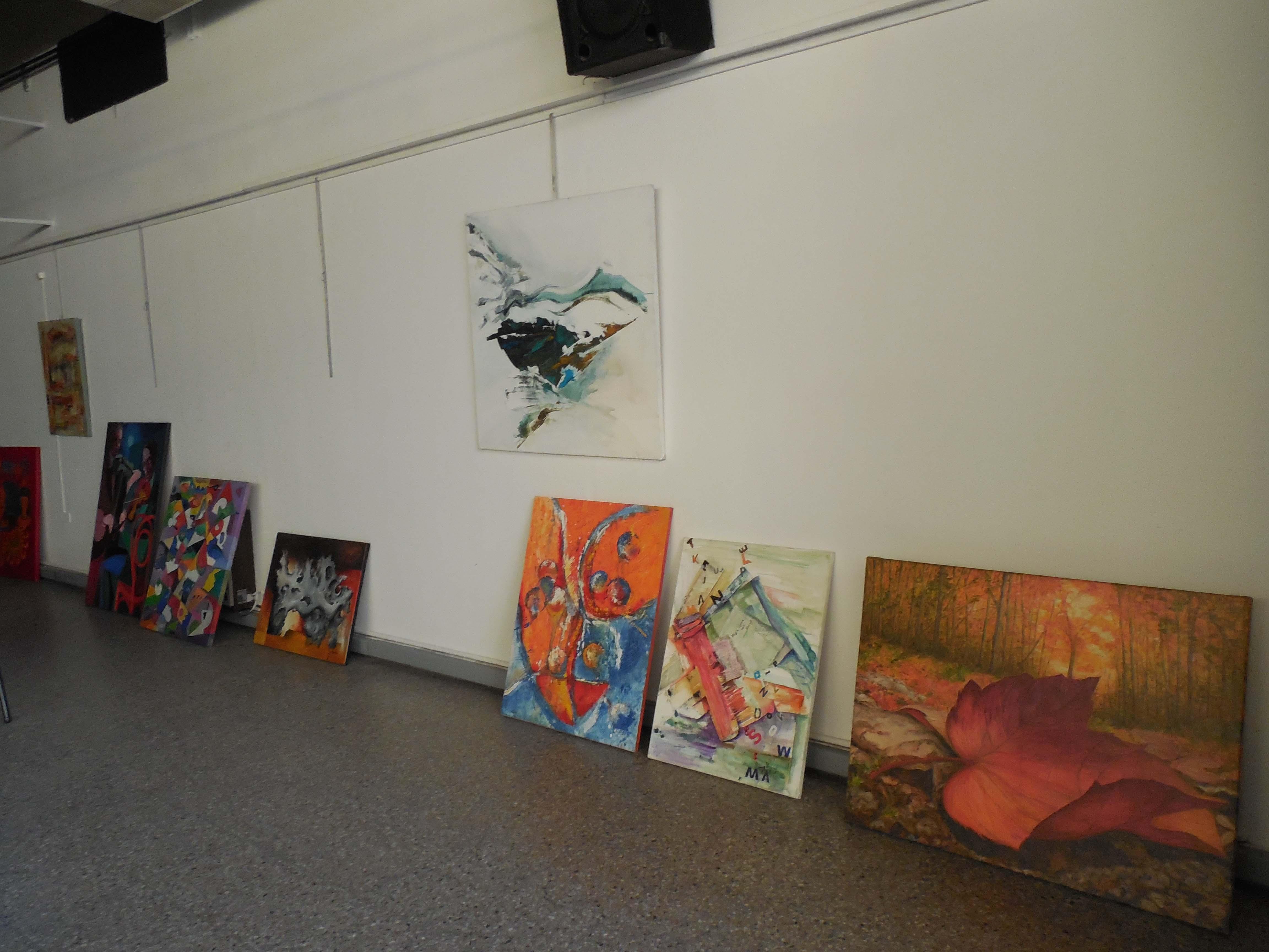 Sala - Sala de exibición de artes visuales en la Asociación Gente de Arte de Avellaneda