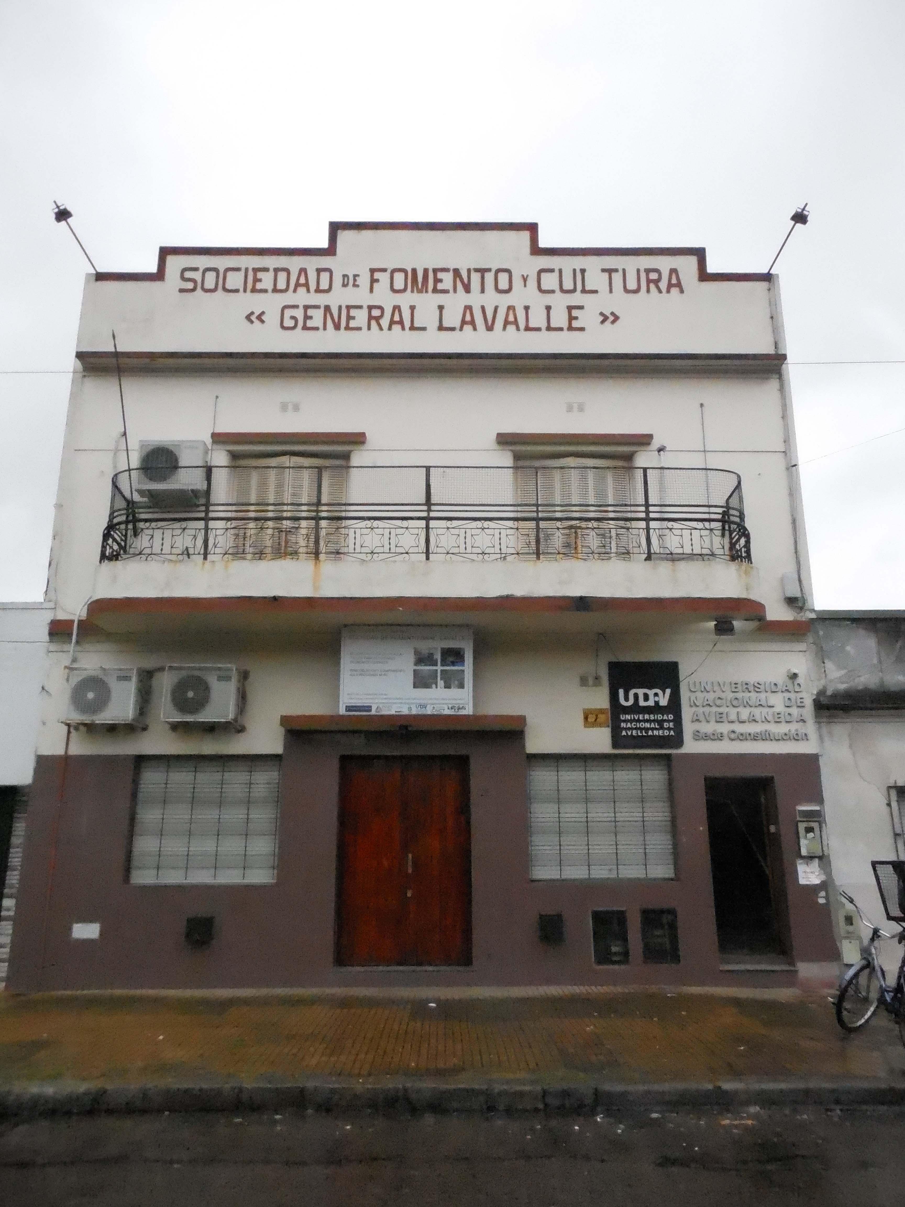 Sociedad de Fomento Gral. Lavalle - Sociedad de Fomento y Cultura Gral. Lavalle