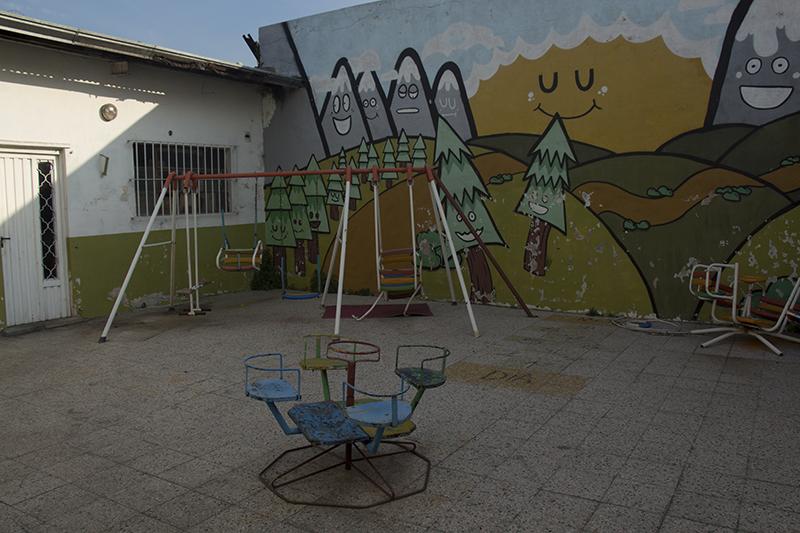 Ex patio del jardín - Sociedad de Fomento Villa San Martín e Ideal