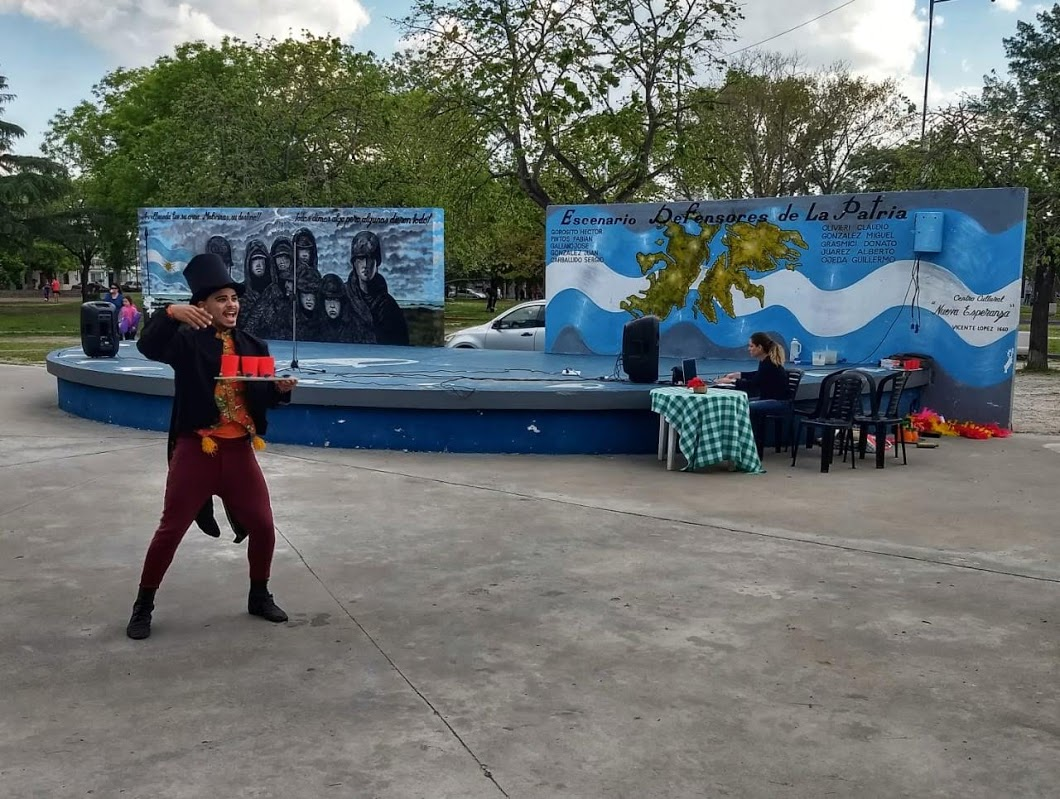 Foto anfiteatro.jpg - Festival que realiza el Centro Cultural Nueva Esperanza
