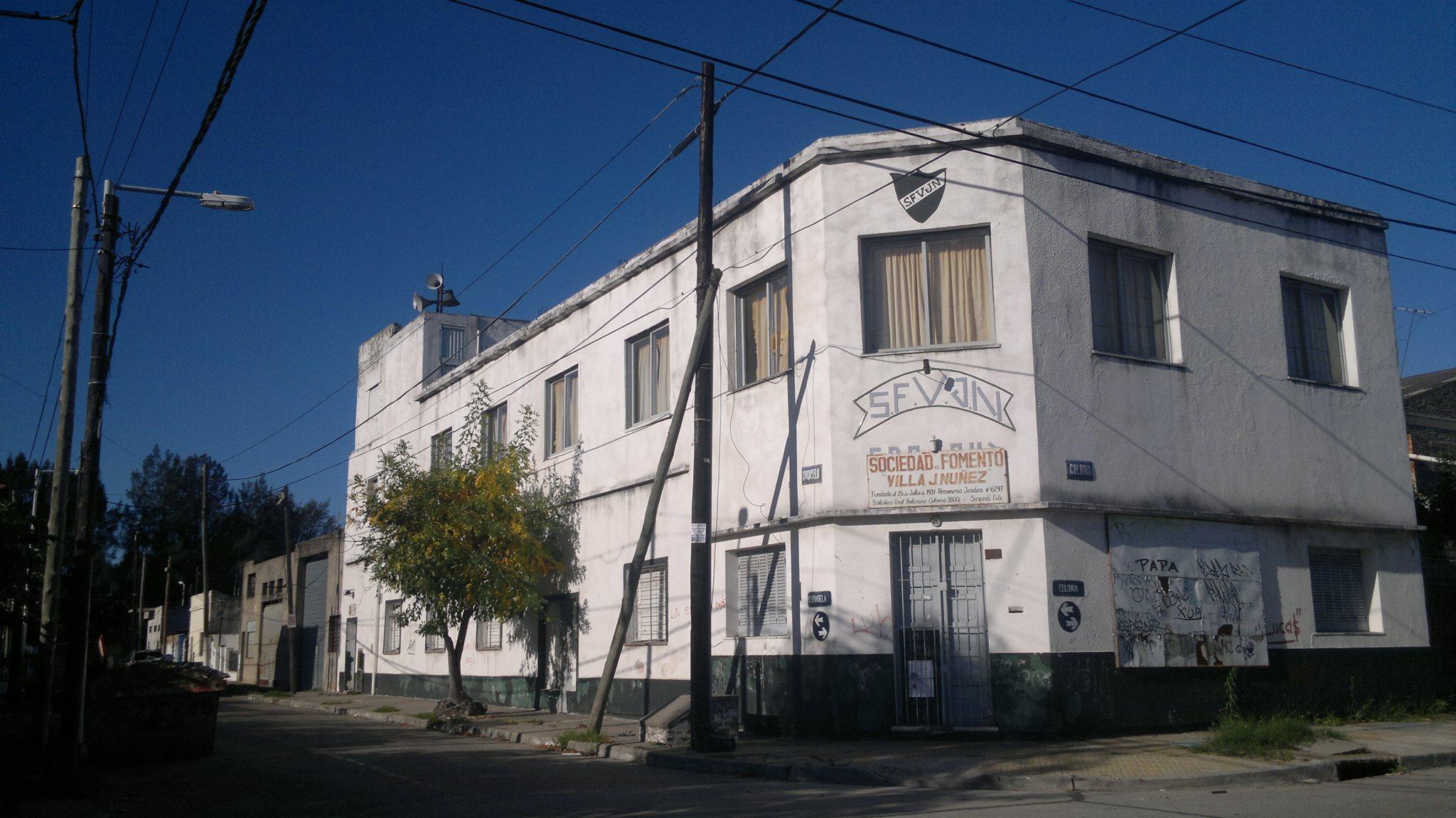 Fachada - Sociedad de Fomento Villa J. Nuñez