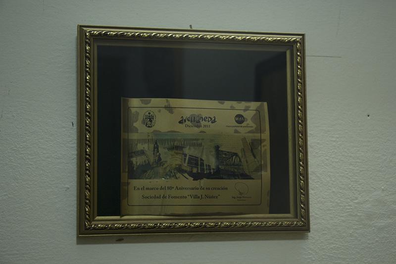 Reconocimiento - Sociedad de Fomento Villa J. Nuñez