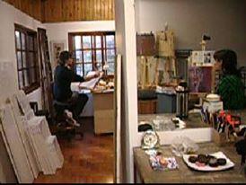 vista taller - Atelier de Horacio Cabezuelo