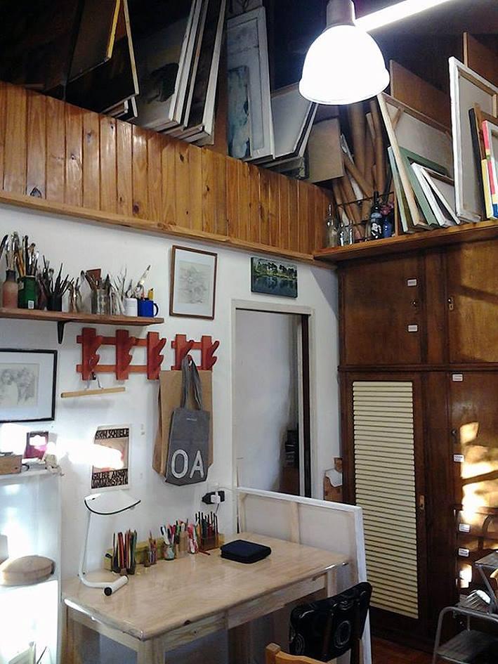 interior taller. 1er. piso. foto 6 - Atelier de Horacio Cabezuelo