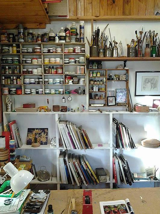 interior taller. 1er. piso. foto 7 - Atelier de Horacio Cabezuelo