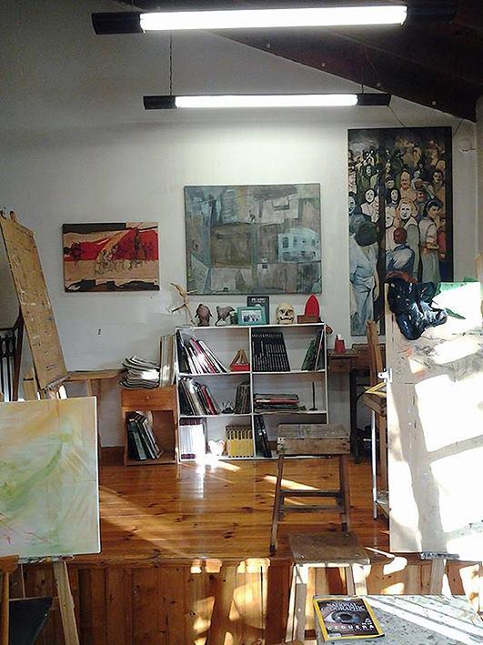 interior taller. 1er. piso. foto 9 - Atelier de Horacio Cabezuelo