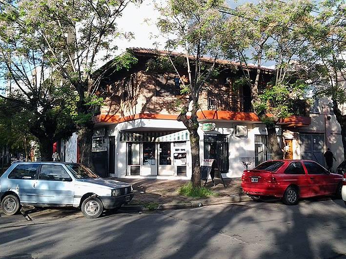 vista del taller desde la calle - Atelier de Horacio Cabezuelo