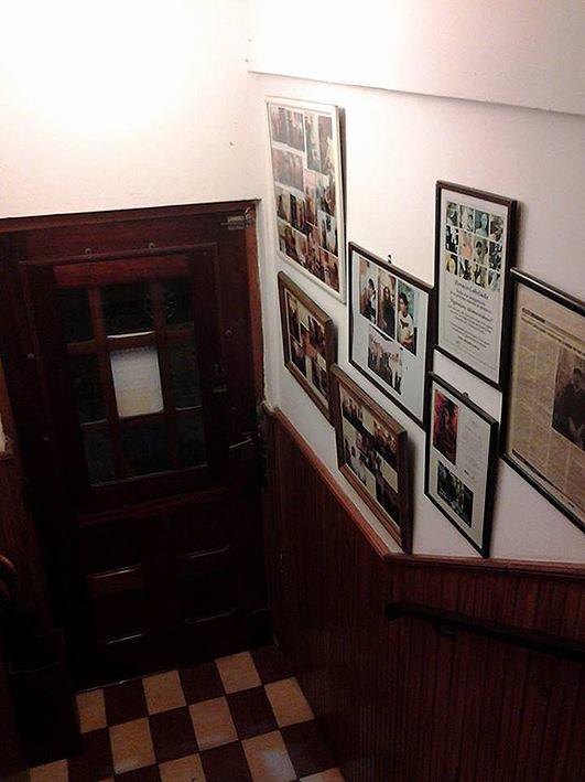 escalera. vista desde 1er. piso. foto 2 - Atelier de Horacio Cabezuelo