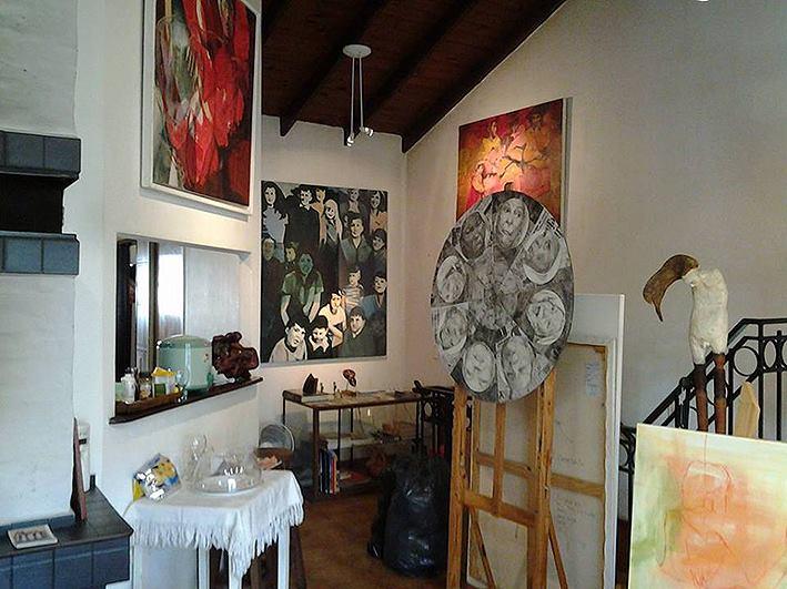 interior taller. 1er. piso. foto 3 - Atelier de Horacio Cabezuelo