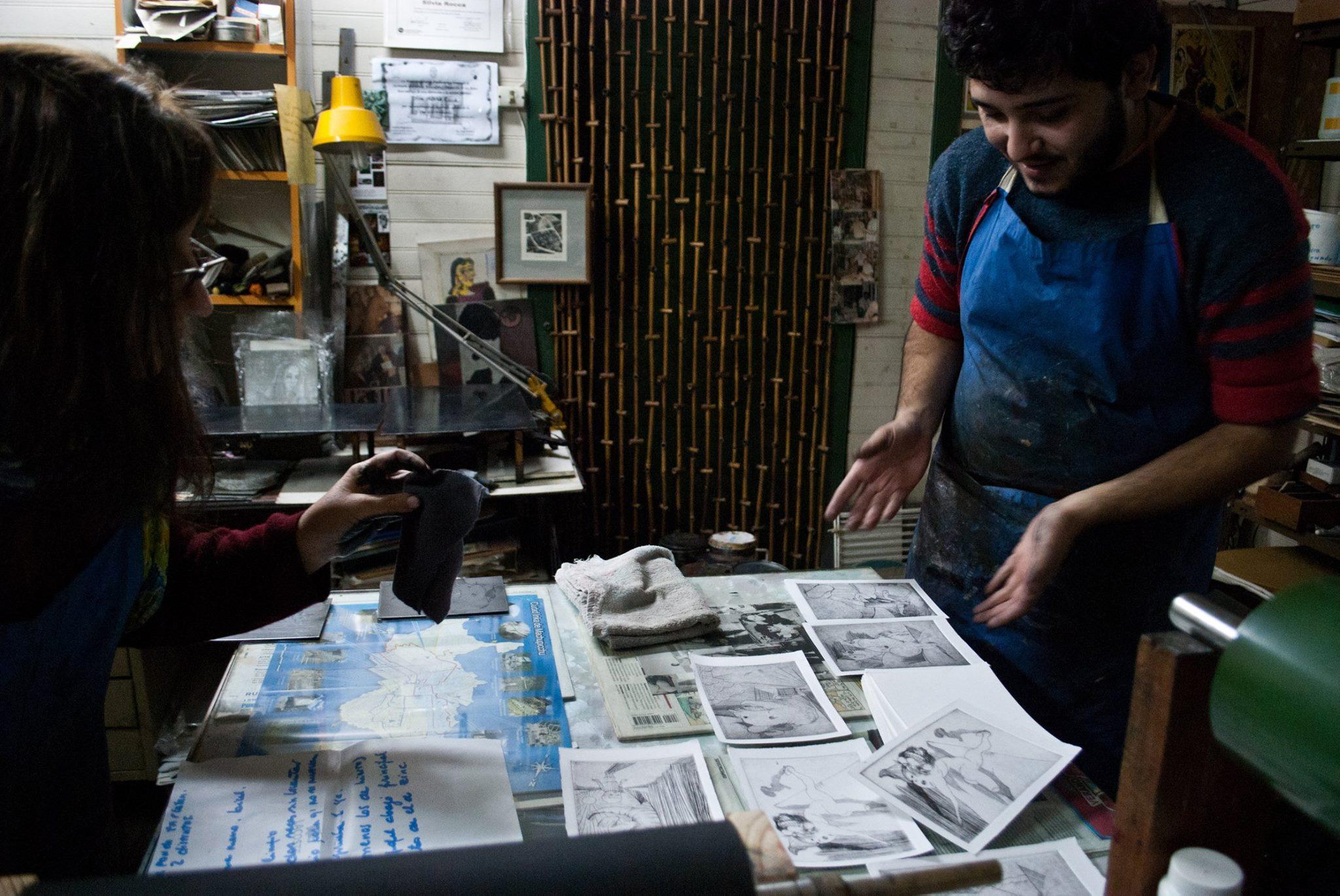 taller Mirando al Sur.foto 2 - Atelier de Silvia Rocca