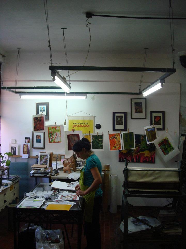 estudiante. taller mirando al sur. foto 2 - Atelier de Silvia Rocca