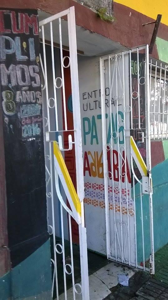 acceso al centro cultural - Centro Cultural Patas Arriba