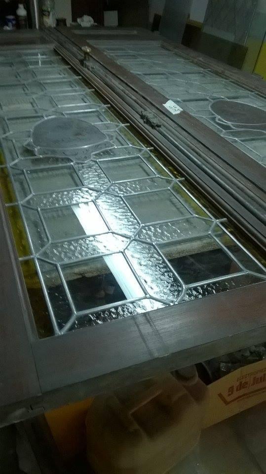 detalle trabajo de vitraux - Claudio De Luca Vitraux