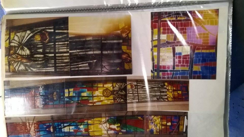 carpeta de trabajos de Claudio De Luca 5 - Claudio De Luca Vitraux