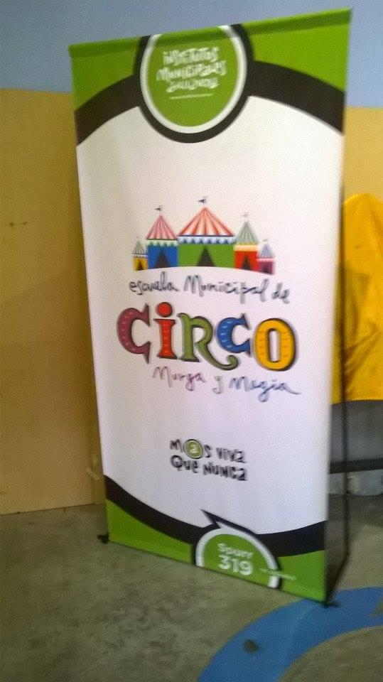 banner de difusión - Escuela Municipal de Circo