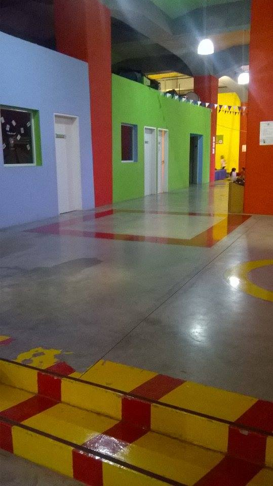 aulas de trabajo - Escuela Municipal de Circo