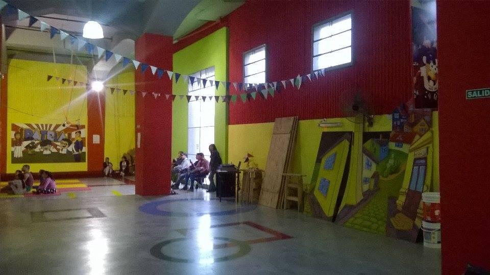 vista del espacio - Escuela Municipal de Circo