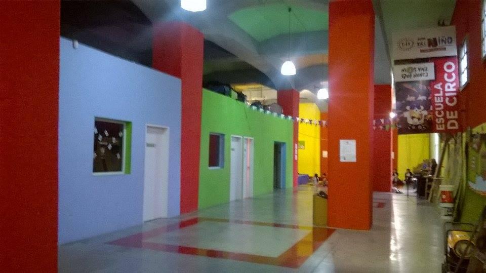 vista de la Escuela Municipal de Circo - Escuela Municipal de Circo