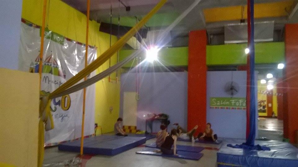 espacio de clases - Escuela Municipal de Circo