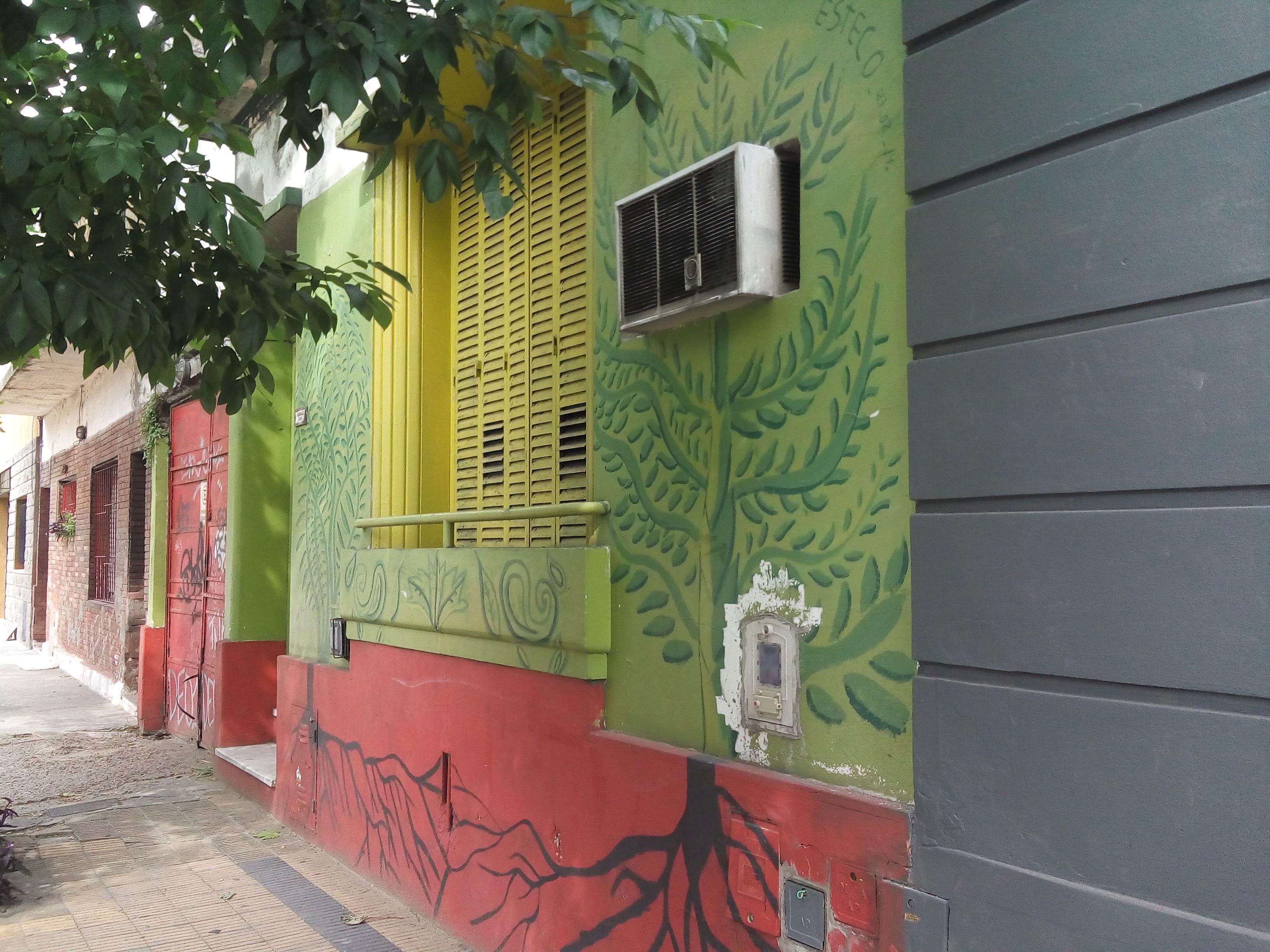 Imagen 1 Jorge Esteco - Mural en Gral. Arenales al 300