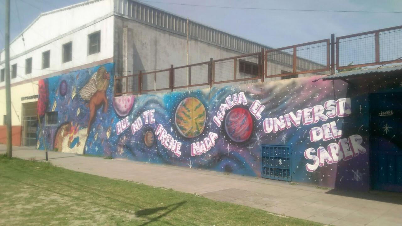 Escuela secundaria N° 31 - Mural en la Escuela N° 31 de Villa Corina