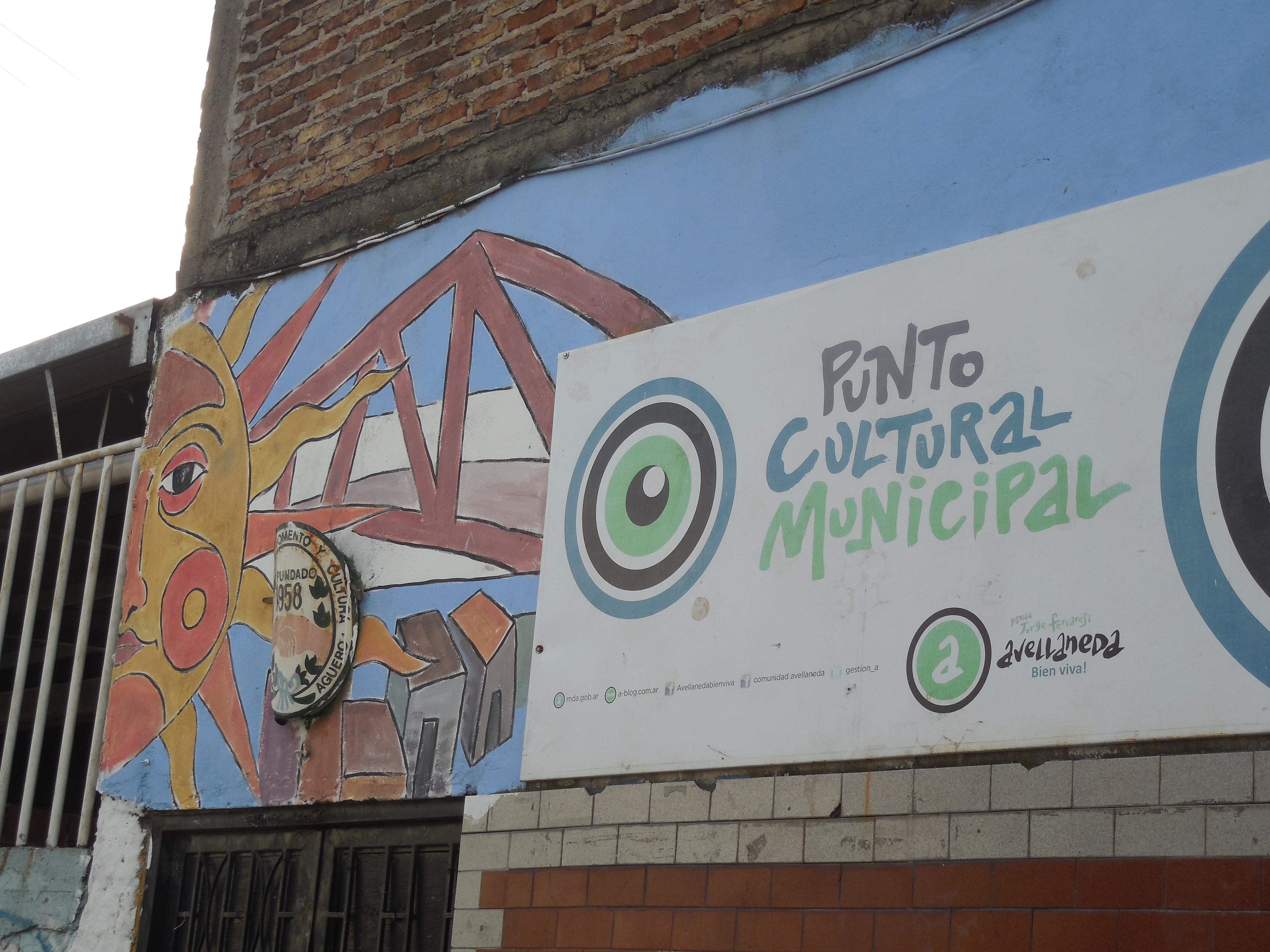 Punto cultural N° 8 en la Sociedad de Fomento y Cultura Barrio Agüero - Punto Cultural 2016 N° 8 en la Sociedad de Fomento y Cultura Barrio Agüero