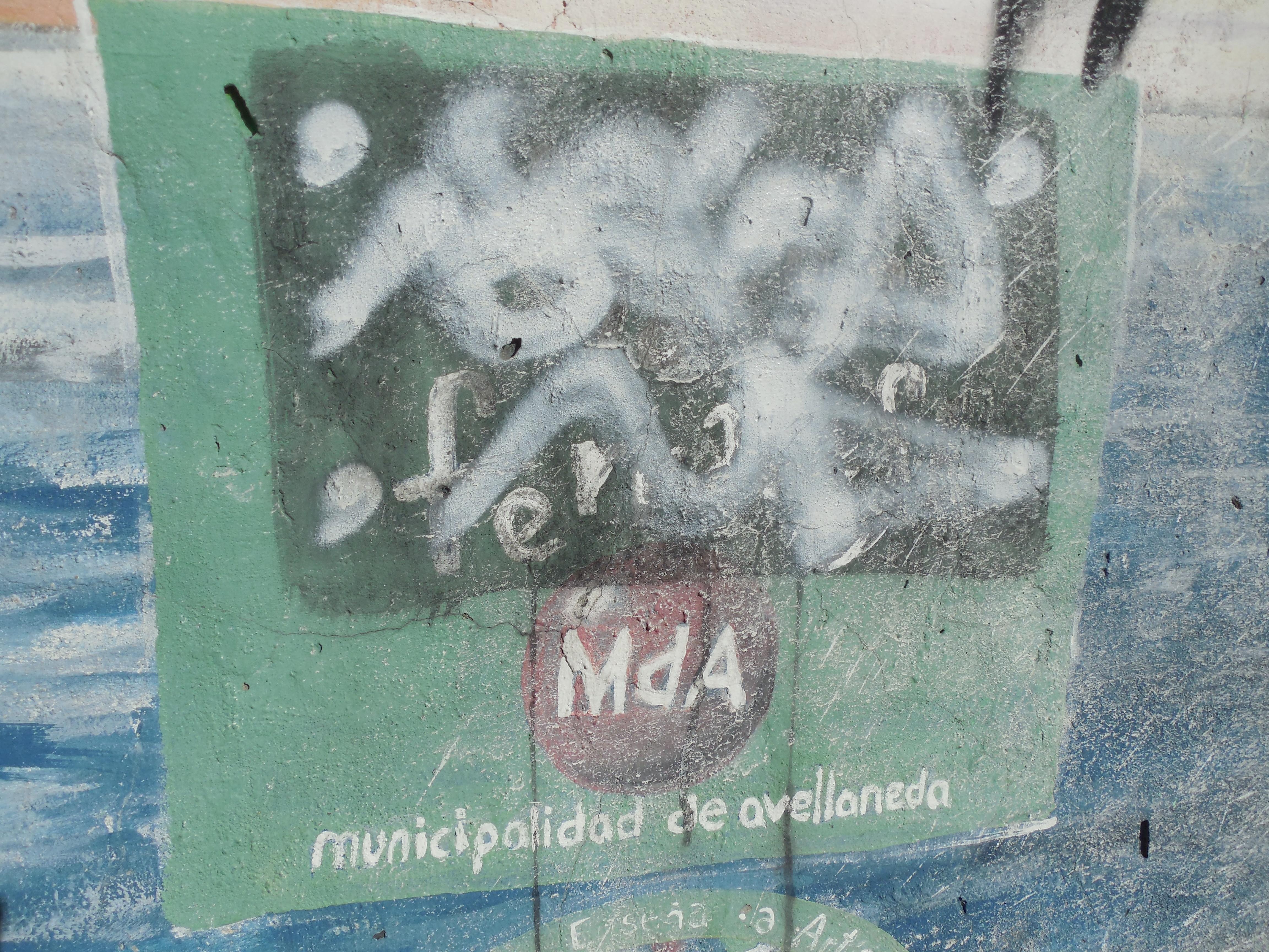 Mural Cristalux - Mural en la Cooperativa Cristal Avellaneda (Ex-Cristalux)