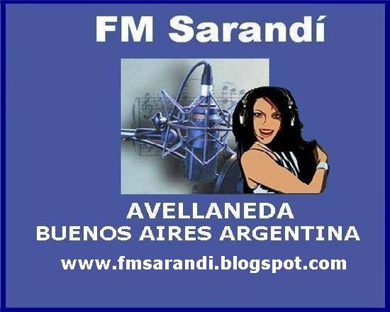 Imágen del blogspot de la radio - FM Sarandí 96.5