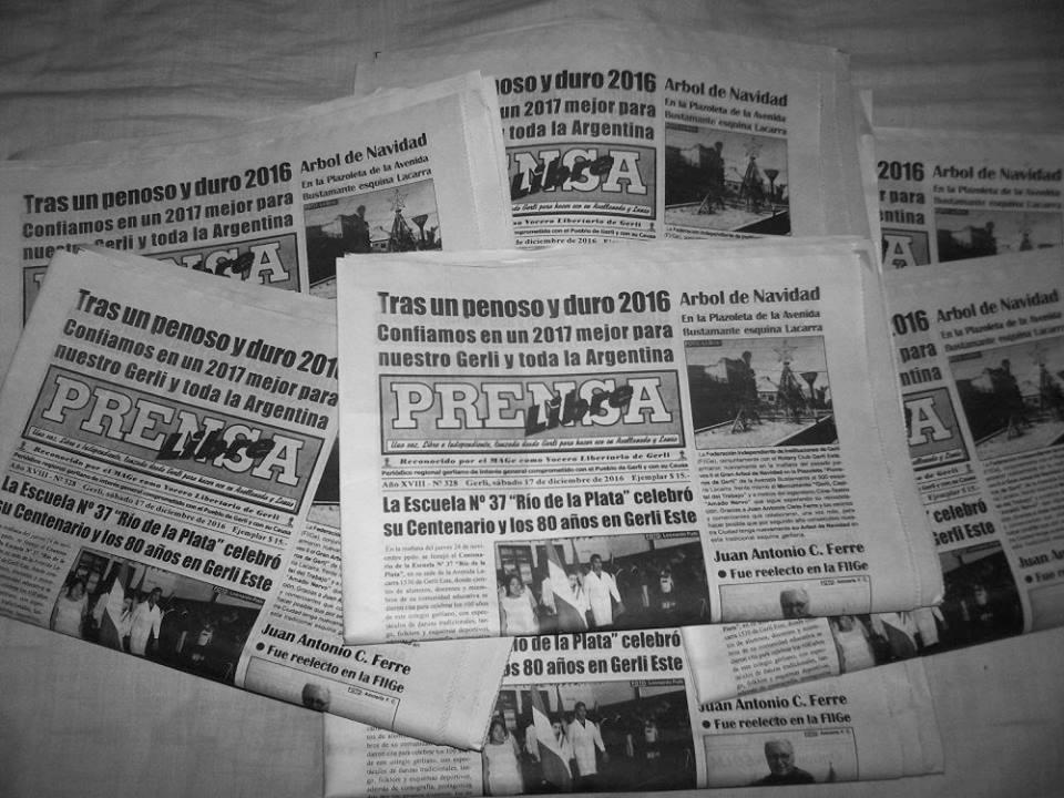 Periódico Prensa Libre Gerli - Prensa Libre