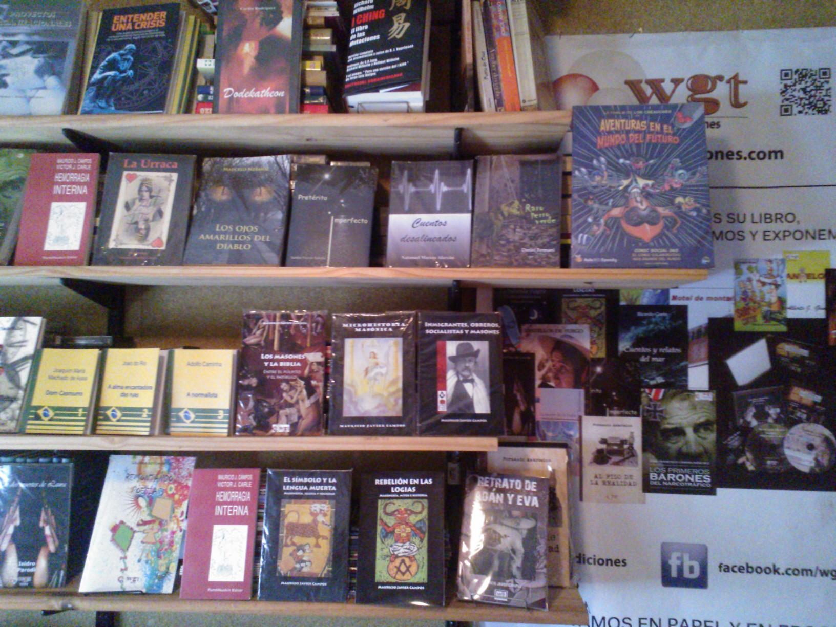 WGT libros editados - WGT Ediciones
