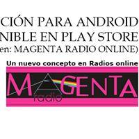 Descarga tu aplicación  - Radio Magenta de WGT Ediciones