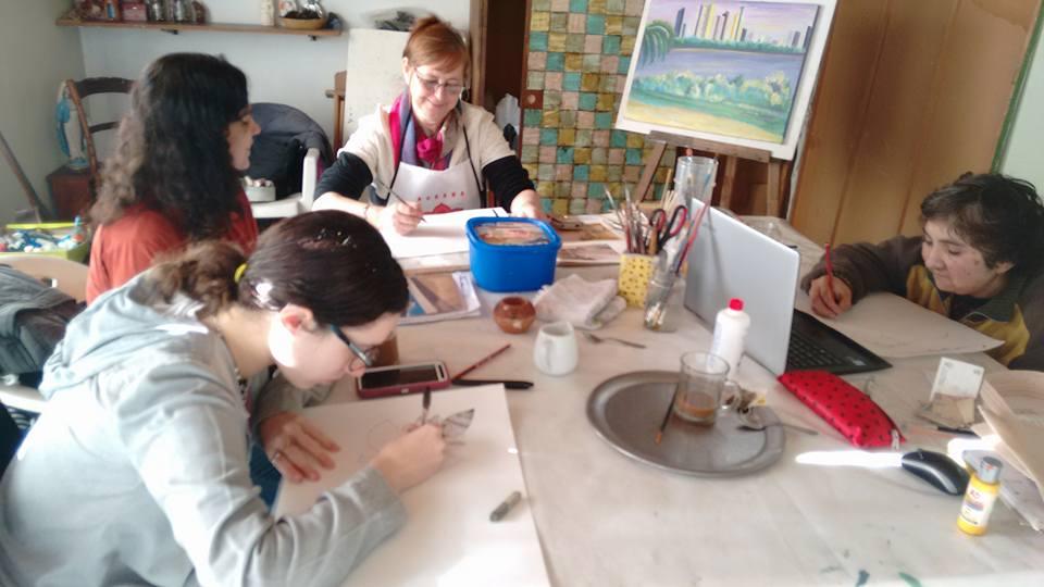 taller  - Atelier Una Pausa para el Alma
