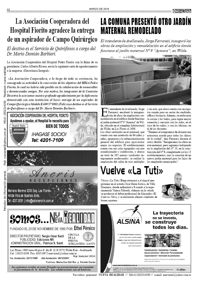 Diario - Periódico Nueva Realidad