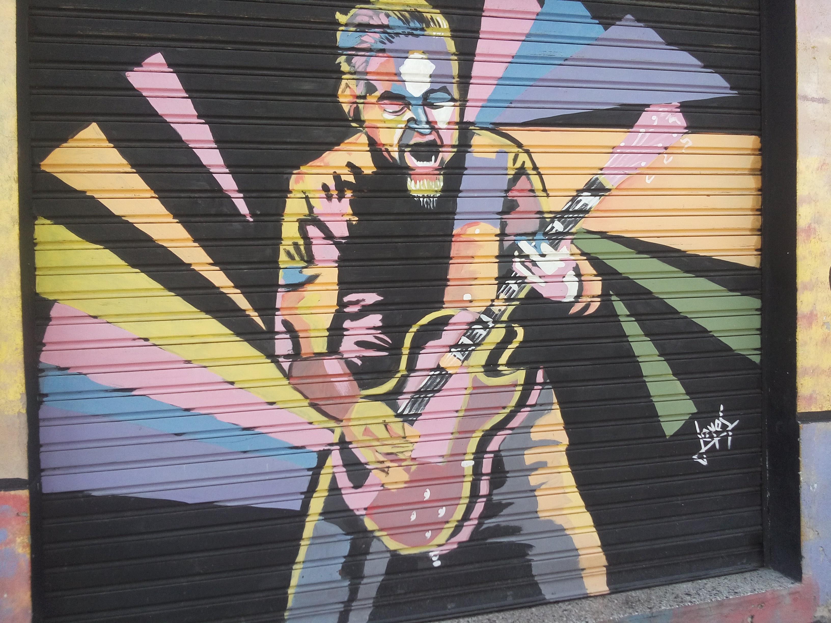 Bar La Fondita 2 - Mural en el Bar La Fondita