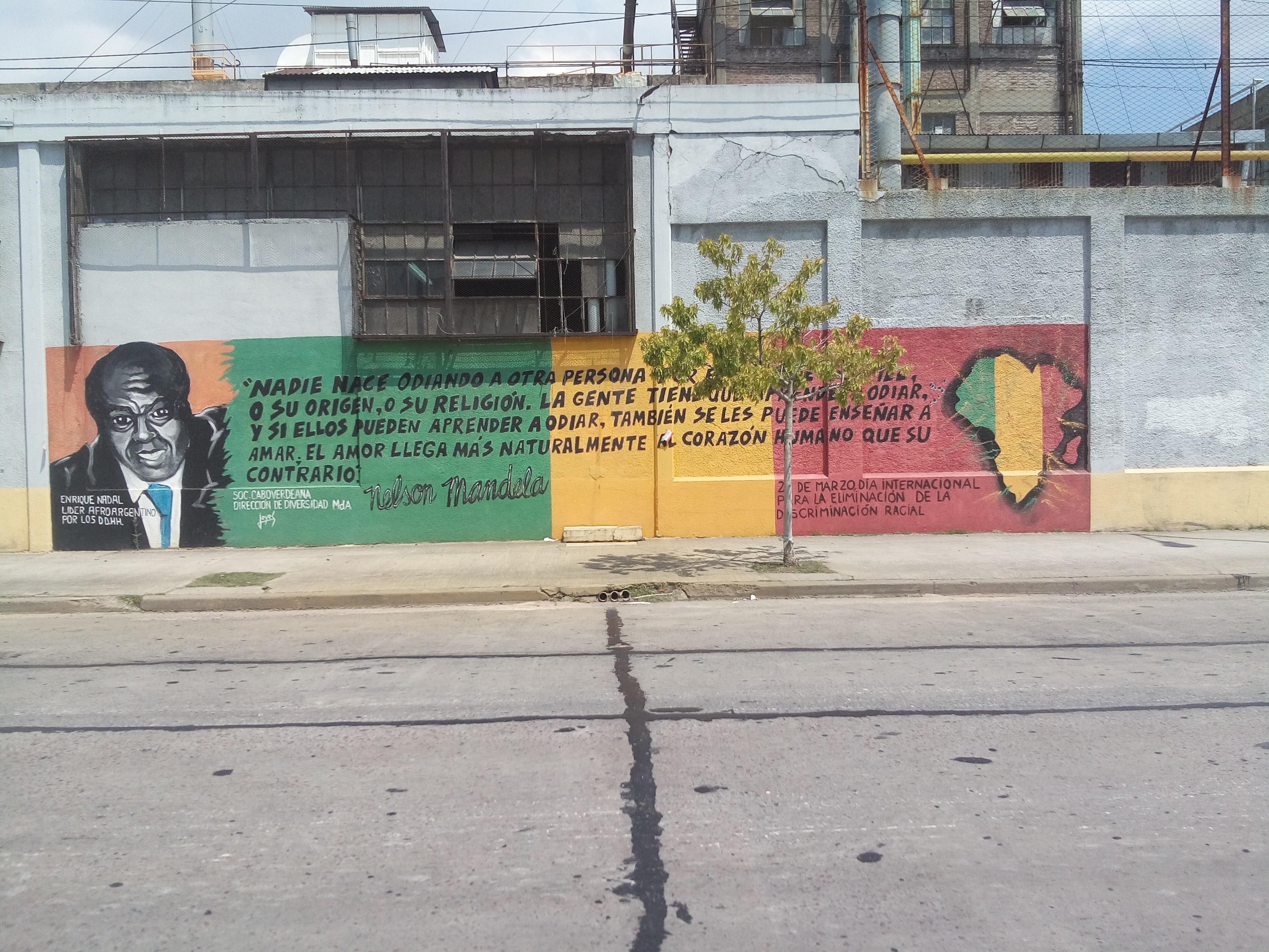 Comunidad Caboverdeana - Mural de la Comunidad Caboverdeana de Avellaneda