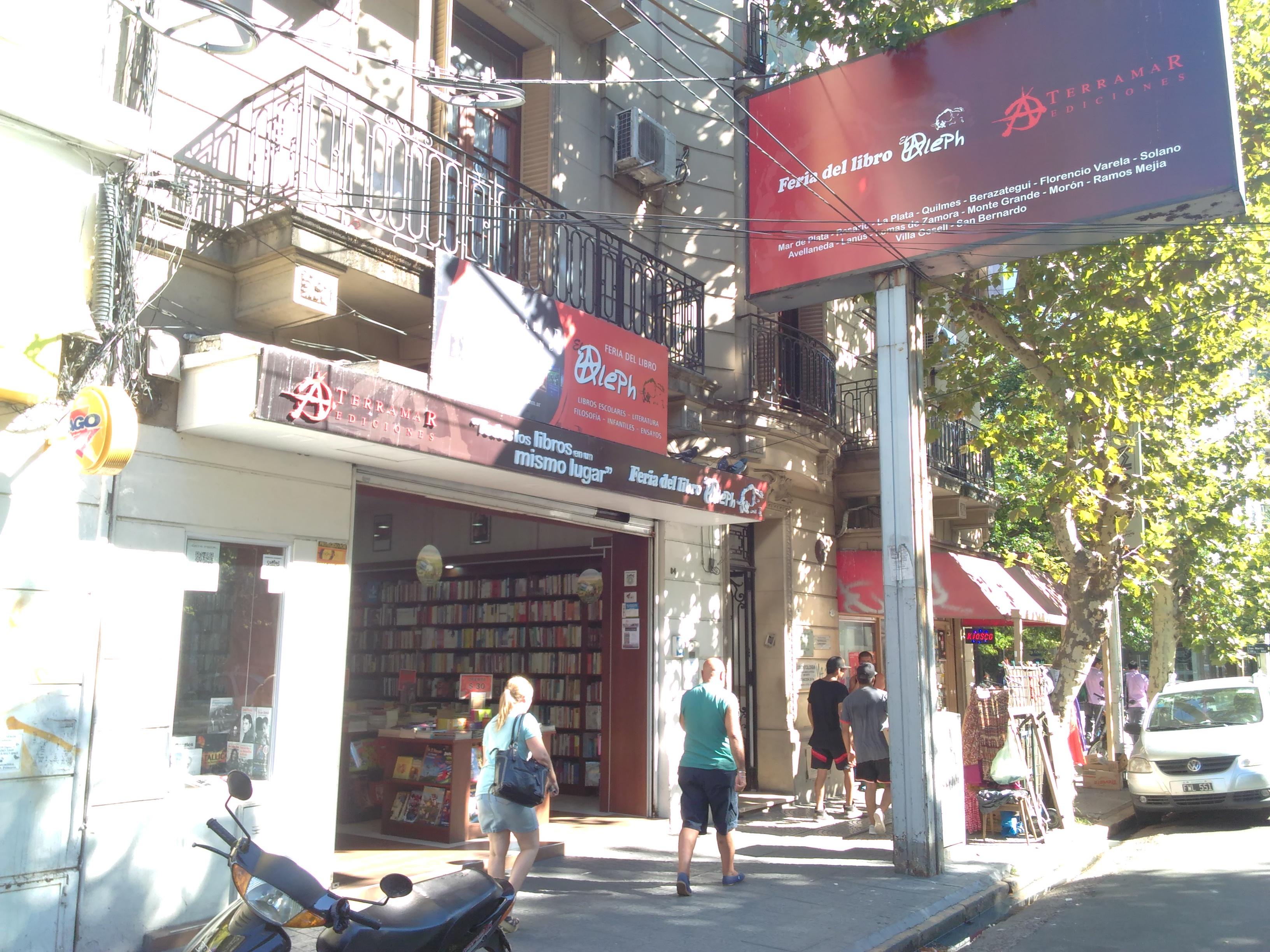 El Aleph - Feria del Libro de El Aleph Sucursal Avellaneda